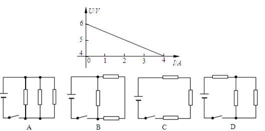 的电阻连接成电路,测得路端电压为4.8v