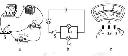 新课标版初二物理上册研究串并联电路的电流规律专项训练.doc
