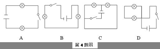 【题文】如图所示四幅电路图中,两灯泡组成并联电路的是