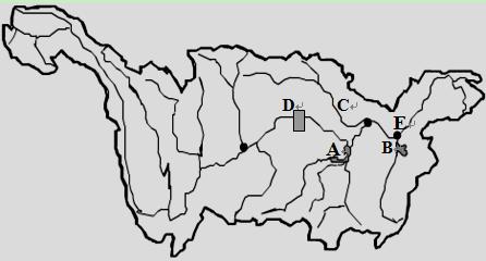 【题文】读长江水系图(图6——2),然后完成下列要求:(12分)