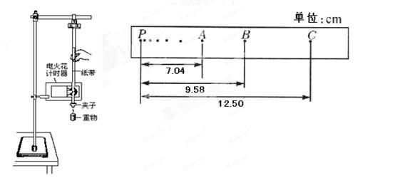 弹簧秤②打点计时器打下计数点b时,重物的速度v b=________m/s(保留到