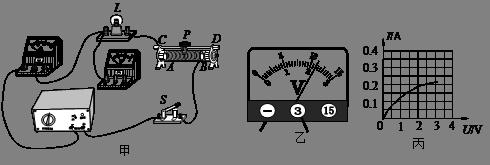 小灯泡的电功率,请只添加一条导线完成图19甲所示的实验电路的连接