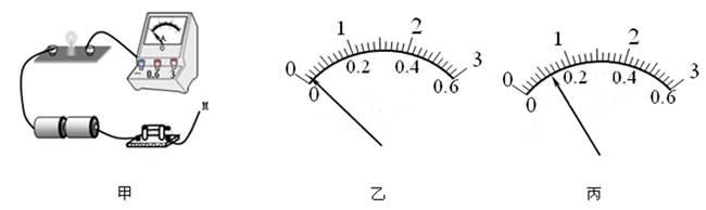 如图所示,是小华用电流表测通过灯泡l电流时的电路.
