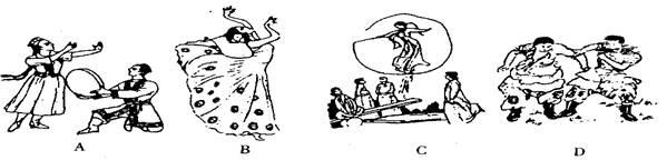 【题文】西双版纳地区的民族风情以下列哪个民族为主
