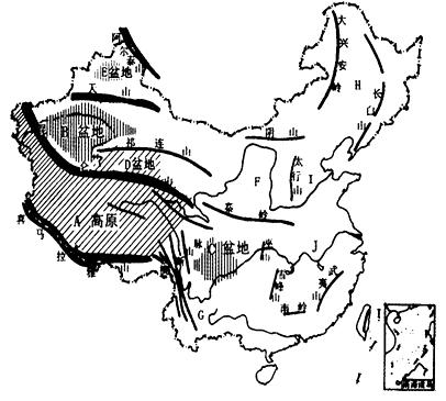 地图 简笔画 手绘 线稿 406_365