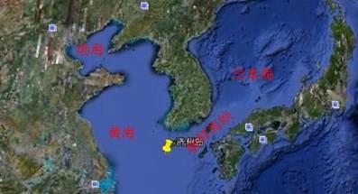 济州岛,韩国第一大岛,位于朝鲜半岛南端,其以西海域属于黄海.