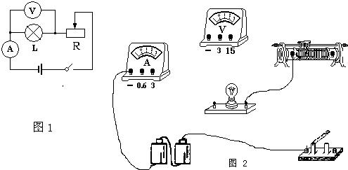 初中物理试题 未知 在测定额定电压为3.8v小灯泡.