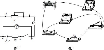 某同学在用电流表和电压表测电池电动势和内阻的实验中,串联了一只2.