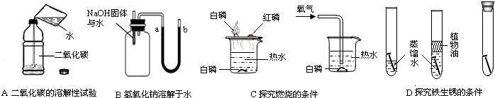 关注变化过程 (1)实验a是探究磷的燃烧条件,它是通过