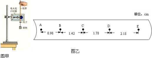 用如图甲所示的实验装置验证机械能守恒定律.