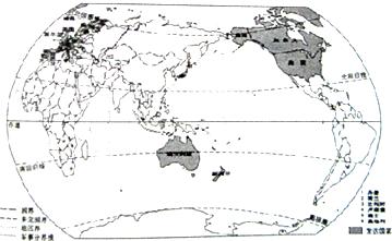 的西部是发达国家最为集中的地区;是最大的发展中国家.图片