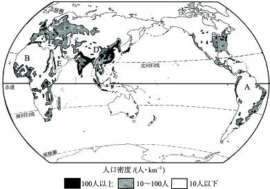 最新世界人口分布图_世界人口分布图