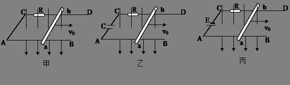 高中物理试题 电磁感应 如图所示,在甲,乙,丙三图中,.