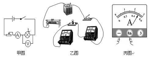 """在用电流表,电压表测小灯泡功率的实验时,灯泡上标有"""""""