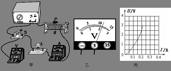 试题分析:测量小灯泡电功率的实验中,小灯泡和电流表串联,和电压表并联,根据灯泡的额定电压确定电压表的量程;电压表有示数,说明问题出在电压表两接线柱之间的电路,非短路(这样电压表示数为0),只能是开路:小灯泡处开路;额定功率指灯泡在额定电压下发挥的功率,通过移动滑片使小灯泡电压表的示数等于灯泡的额定电压,这样计算出来的功率才是额定功率;注意题中求的是灯泡正常发光时滑动变阻器的功率,别看成计算小灯泡的额定功率。 解:(1)小灯泡的额定电压为2.