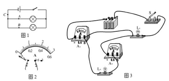 """将一只电流表接入电路中后,观察到它的指针仍指在""""0""""刻度处,下列原因"""