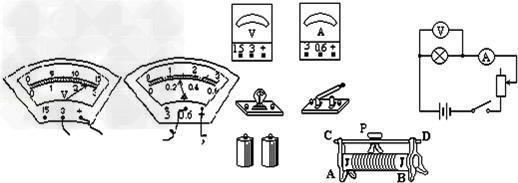 初中物理试题 电路 请按所给的电路图,将实物图连接.