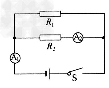 初中物理试题 欧姆定律 在如图所示的电路中,两只电流表.