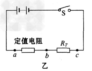 食盐溶液(2)当控温器中液体温度为80℃,电阻箱阻值为100欧时,电流表的