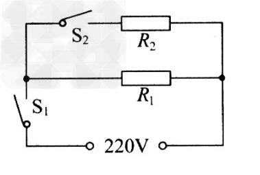 某家用电饭煲的简化电路图如图所示.