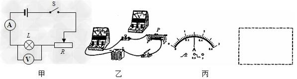 (4)正确连接电路后,闭合开关,小明移动滑片p,灯泡正常发光时,发现电压