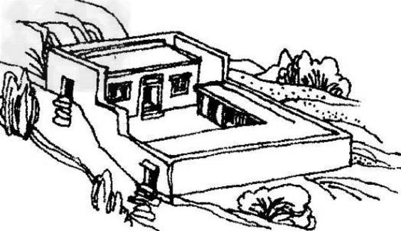 工程图 简笔画 平面图 手绘 线稿 564_325