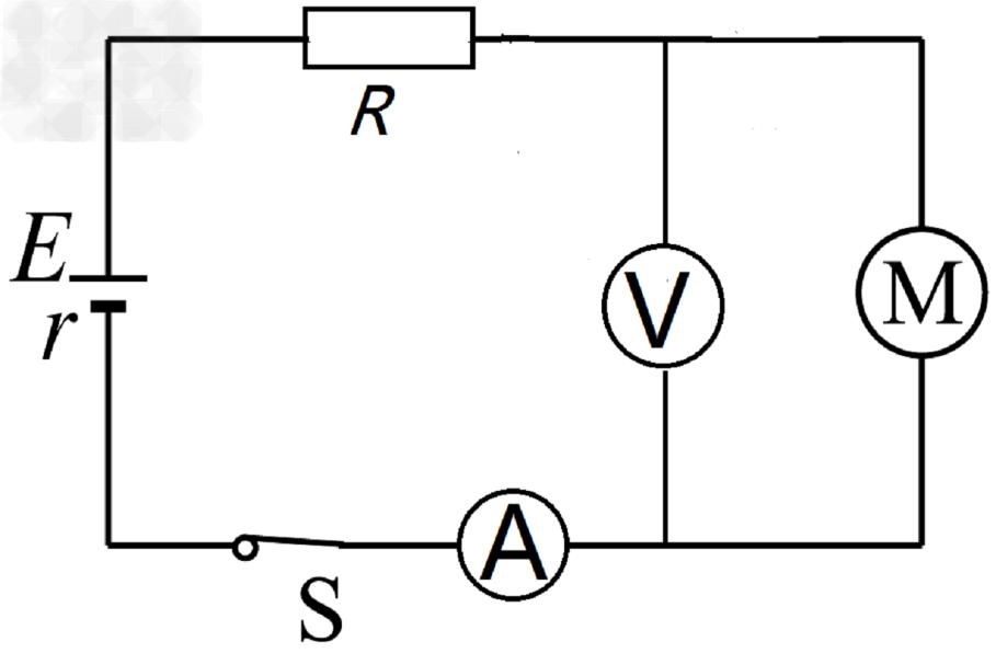 当开关s 闭合后电路正常工作,电压表的读数 u =5v,电流表的读数 i =1a